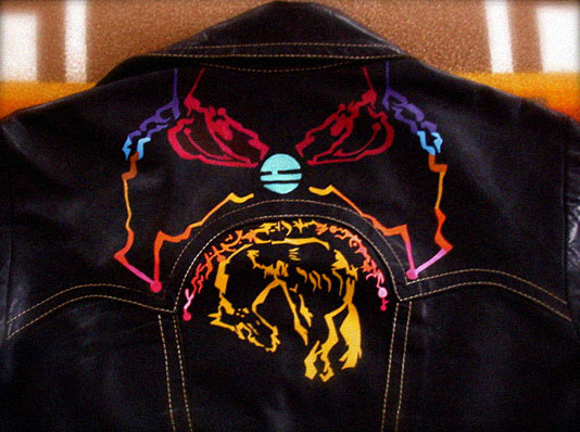 Andrew Douglas Rothbard Abandoned Meander Hand Painted Jacket